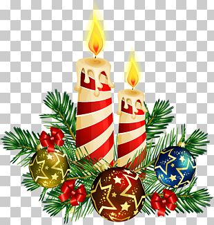 Candle Christmas Tree PNG
