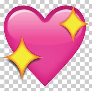 Emoji Heart Love IPhone PNG