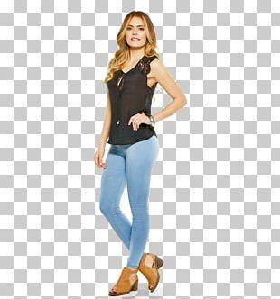 Jeans T-shirt Shoulder Cobalt Blue Leggings PNG
