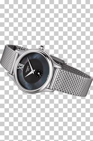 Tissot Watch Strap Clock Nacre PNG