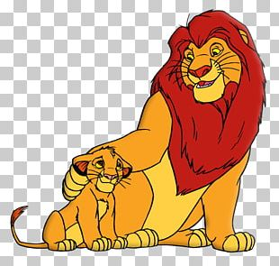 Simba The Lion King Rafiki Mufasa PNG