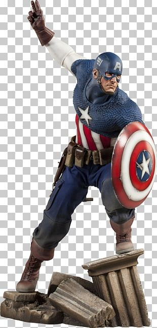Captain America Hulk Sideshow Collectibles Marvel Comics Model Figure PNG