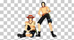 Portgas D. Ace MikuMikuDance One Piece Hatsune Miku Figurine PNG