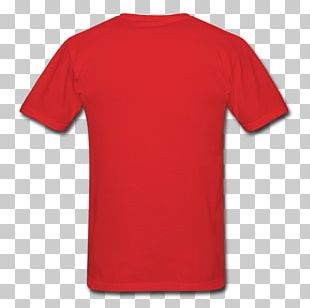 T-shirt Clothing Fruit Of The Loom Red PNG