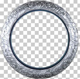 Frames Circle Gold PNG