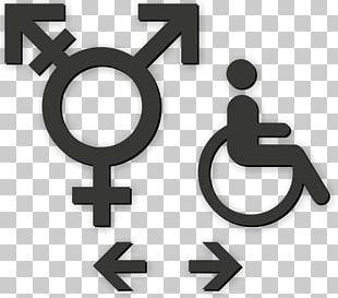 Gender Symbol Sign Unisex Public Toilet Gender Neutrality PNG