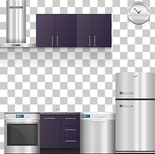 Home Appliance Kitchen Cabinet Kitchen Stove PNG