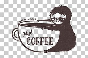 Sloth Sticker Brand Top Decal PNG