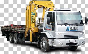 Commercial Vehicle Dump Truck Car Crane PNG