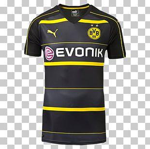 Borussia Dortmund T-shirt Jersey Kit PNG