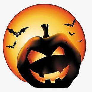 Halloween Pumpkin Lantern PNG