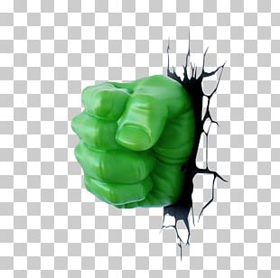 Hulk Hands Fist Marvel Comics Art PNG
