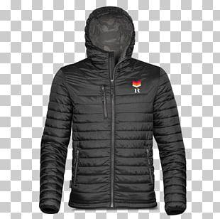 Shell Jacket Coat Zipper Hood PNG