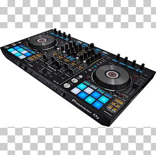 Pioneer DJ DJ Controller Pioneer DDJ-RX Disc Jockey Audio Mixers PNG