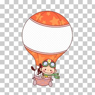 Dog Balloon Cartoon PNG