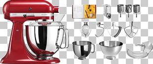 KitchenAid Artisan KSM150PS Mixer Food Processor Blender PNG