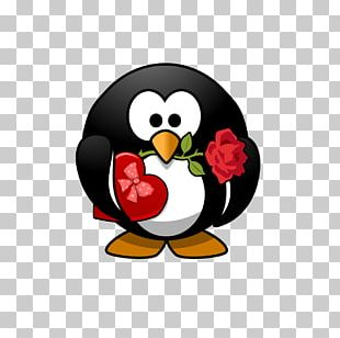 Wedding Invitation Penguin Valentine's Day Gift Greeting & Note Cards PNG