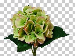 Hydrangea Cut Flowers Flower Bouquet Artificial Flower PNG