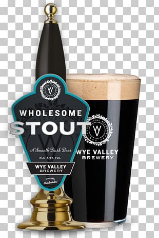 Stout India Pale Ale Beer Wye Valley Brewery PNG