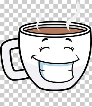 Coffee Cup Tea Cafe Cartoon PNG