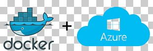 Docker Microsoft Azure Web Sites Cloud Computing PNG