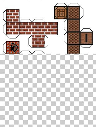 Minecraft Paper Model Video Game PNG