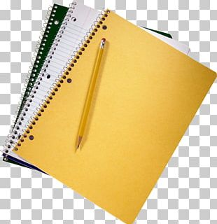 Notebook Pencil Diary PNG