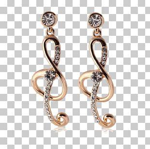 Earring Diamond Jewellery Gratis PNG