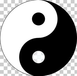 I Ching Yin And Yang Symbol Taoism PNG