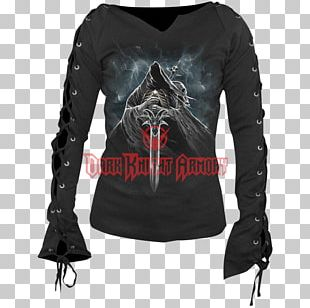 Long-sleeved T-shirt Clothing Gothic Fashion Long-sleeved T-shirt PNG