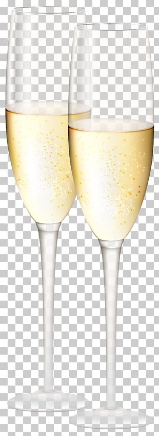 White Wine Champagne Glass Cocktail Wine Glass PNG