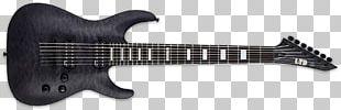 ESP Guitars Eight-string Guitar Electric Guitar Baritone Guitar Seven-string Guitar PNG