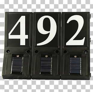 Light-emitting Diode House Numbering House Sign PNG
