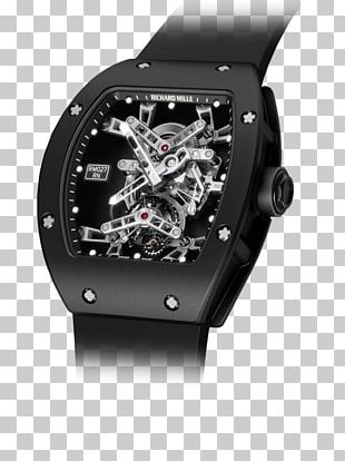Richard Mille Tourbillon Watch Clock Power Reserve Indicator PNG