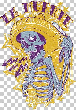 T-shirt Calavera Death Stock Photography Day Of The Dead PNG
