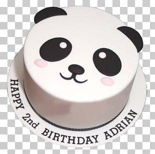 Birthday Cake Sugar Cake Cream Pie Giant Panda Cake Decorating PNG