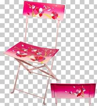 Table Folding Chair Garden Furniture PNG