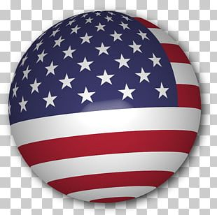 Flag Of The United States Map Globe PNG