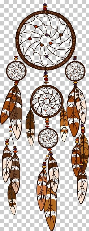 Dreamcatcher Feather Illustration PNG