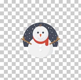 Santa Claus Snowman Christmas ICO Icon PNG
