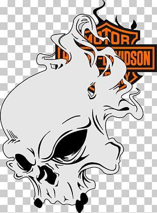 Art Stencil Airbrush Harley-Davidson Decal PNG