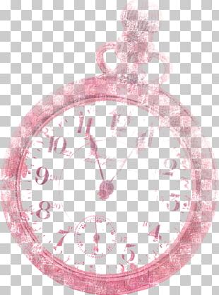 Clock Pink PNG