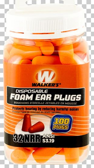 Earplug Hearing Protection Device Jar PNG