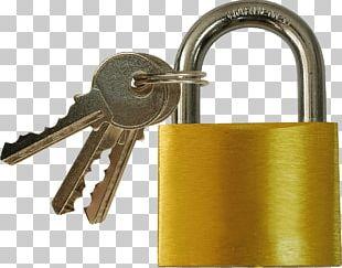 Padlock And Keys PNG
