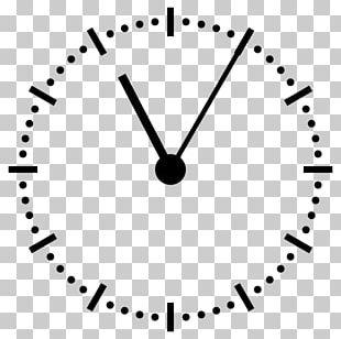 Mantel Clock Analog Signal PNG