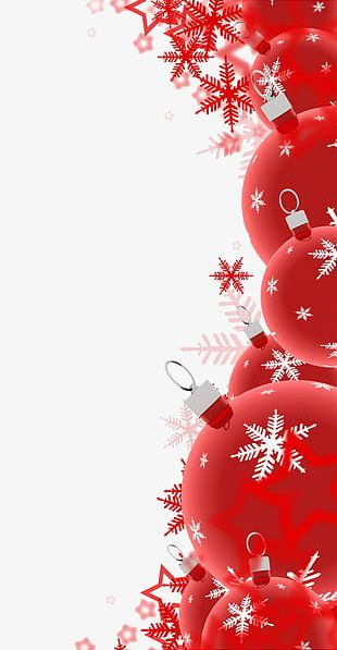 Red Christmas Decoration PNG