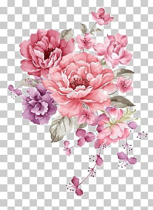 Flower Paper Watercolor Painting Stock Illustration PNG