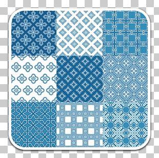Blue Decorative Arts Pattern PNG