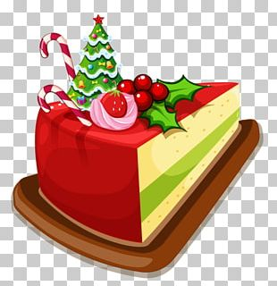 Fruitcake Cupcake Christmas Cake Bakery PNG