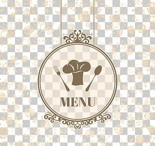 Cafe Menu Chef Bistro Restaurant PNG